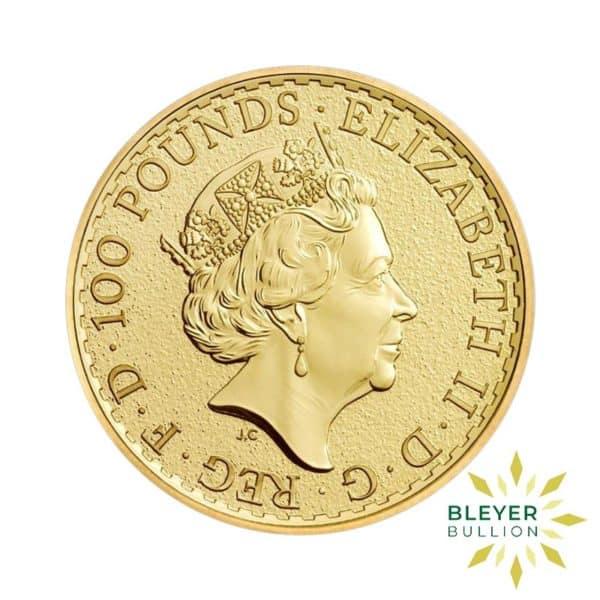 Bleyers Coins 2016 1oz Gold UK Britannia Coin 2