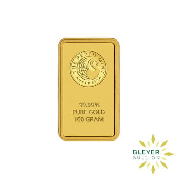 Bleyers Bars 100g Perth Mint Gold Bar 1