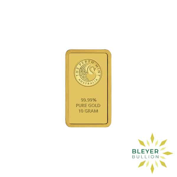 Bleyers Bars 10g Perth Mint Gold Bar 1