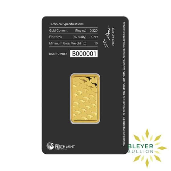 Bleyers Bars 10g Perth Mint Gold Bar 3