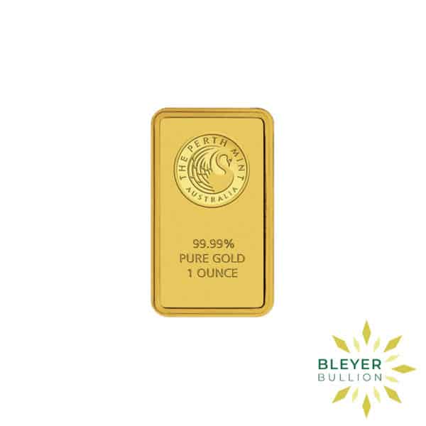 Bleyers Bars 1oz Perth Mint Gold Bar 1