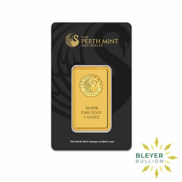 Bleyers Bars 1oz Perth Mint Gold Bar 2