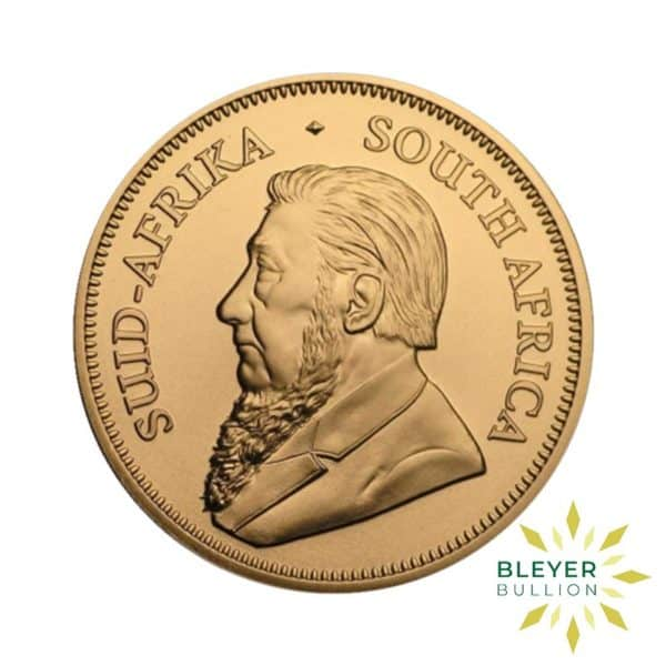 Bleyers Coin Cutouts 1oz Gold South African Krugerrand Coin 2020 Back