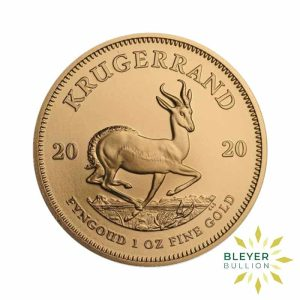 Bleyers Coin Cutouts 1oz Gold South African Krugerrand Coin 2020 Front