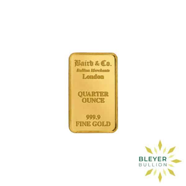 Bleyers Bar 1.4oz Baird Co Minted Gold Bar