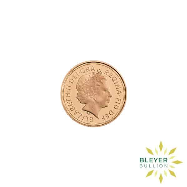 Bleyers Coin Best Value Half UK Gold Sovereign Back2