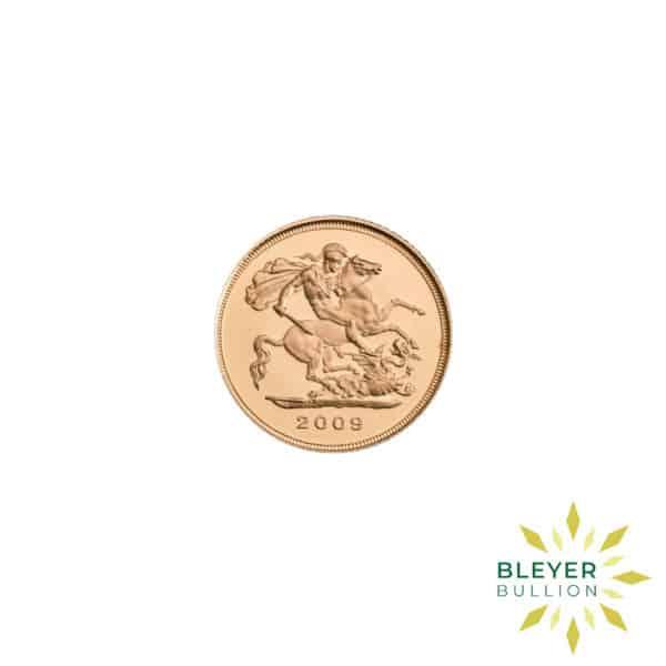 Bleyers Coin Best Value Half UK Gold Sovereign Front2