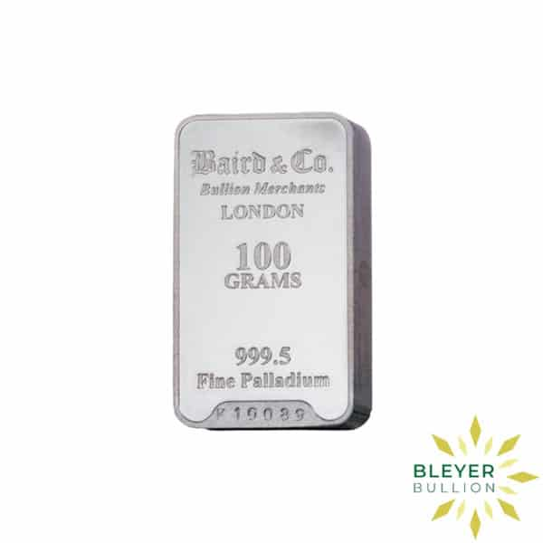 Palladium Baird Bars 100g 1