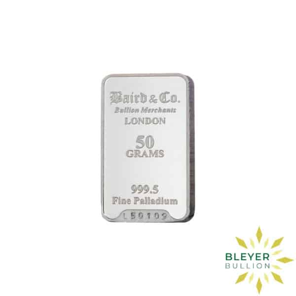 Palladium Baird Bars 50g 1