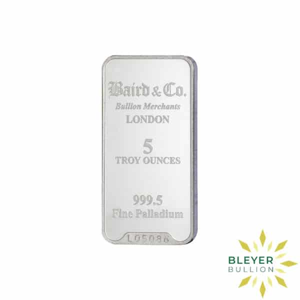 Palladium Baird Bars 5oz 1