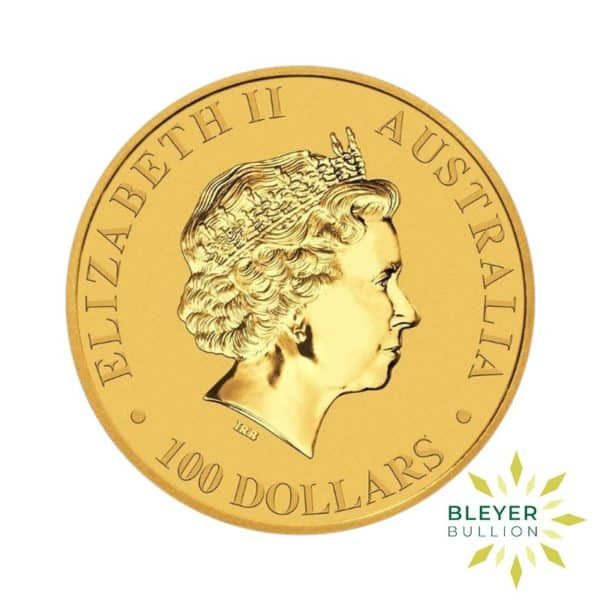 Bleyers Coin 2018 1oz Gold Australian Kangaroo Coin 2