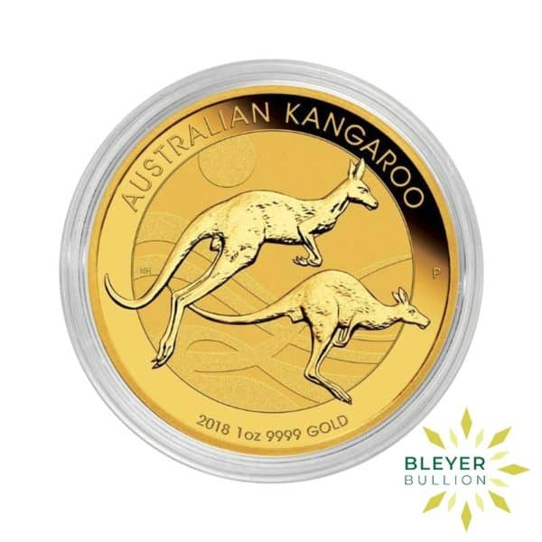 Bleyers Coin 2018 1oz Gold Australian Kangaroo Coin 3
