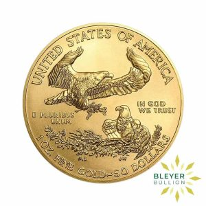 Bleyers Coin Cutouts 2021 Gold American Eagles Front