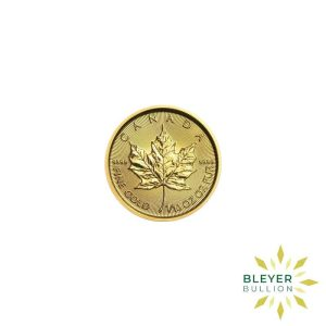 Gold Canadian Maple Coins 1 10 F