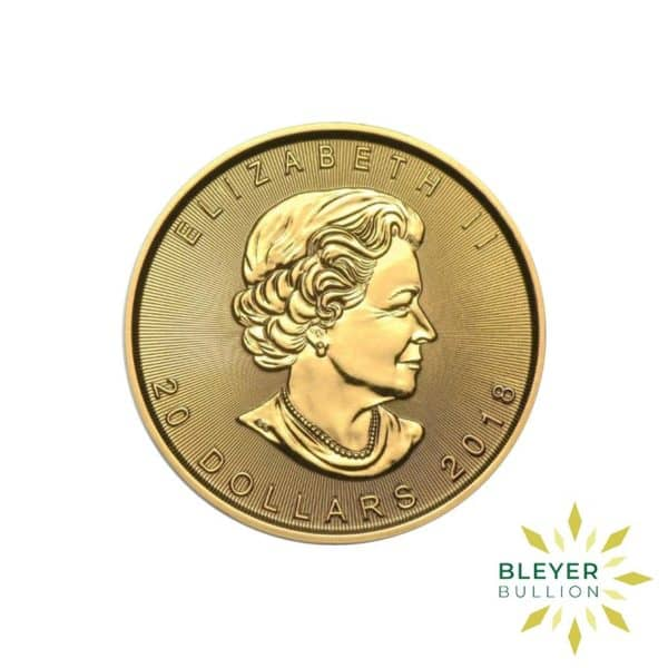 Gold Canadian Maple Coins 1 4 B