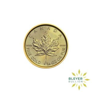 Gold Canadian Maple Coins 1 4 F