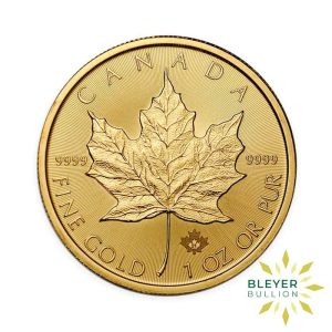 Gold Canadian Maple Coins 2021 F