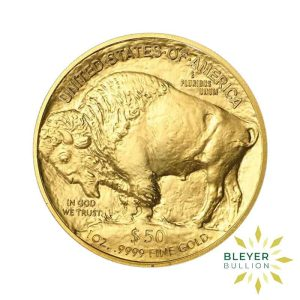 Bleyers Coin 1oz Gold American Buffalo Coin 1