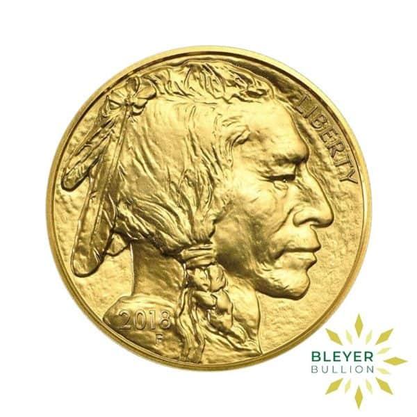 Bleyers Coin 1oz Gold American Buffalo Coin 2