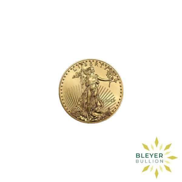 Bleyers Coin Cutouts Best Value Gold American Eagles 1 10oz Back