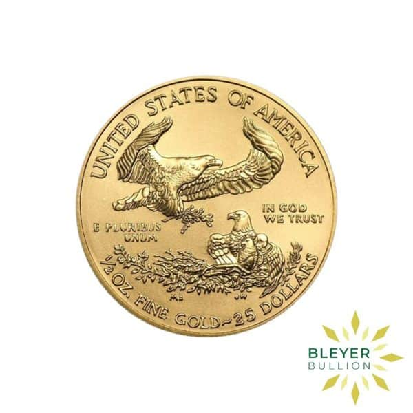 Bleyers Coin Cutouts Best Value Gold American Eagles 1 2oz Back