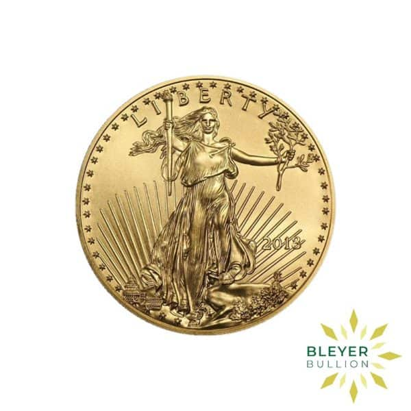 Bleyers Coin Cutouts Best Value Gold American Eagles 1 2oz Front