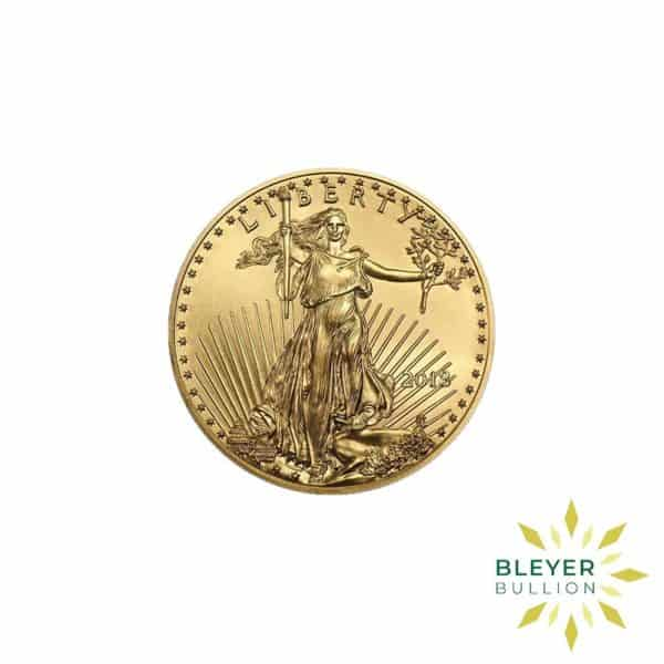 Bleyers Coin Cutouts Best Value Gold American Eagles 1 4oz Back