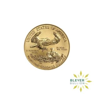 Bleyers Coin Cutouts Best Value Gold American Eagles 1 4oz Front