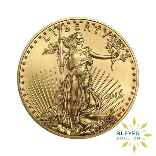 Bleyers Coin Cutouts Best Value Gold American Eagles 1oz Back