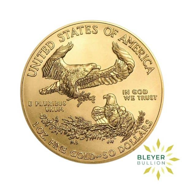 Bleyers Coin Cutouts Best Value Gold American Eagles 1oz Front