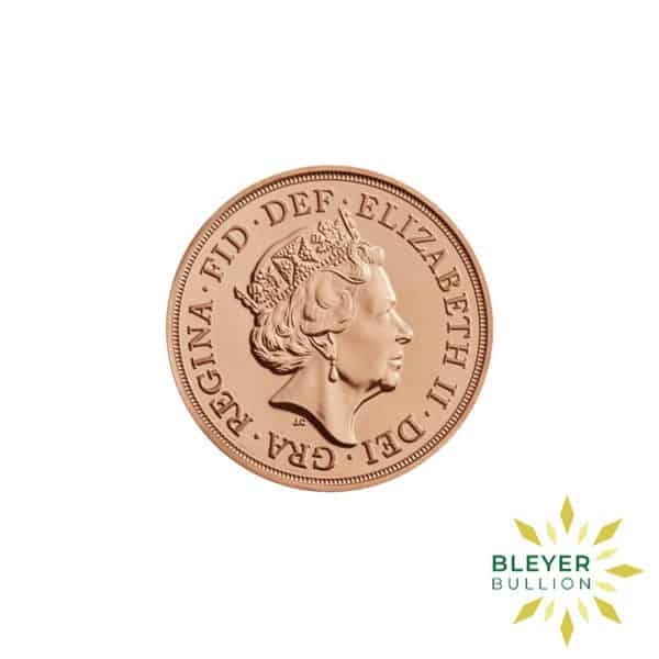 Bleyers Coin Best Value Full UK Gold Sovereign Back