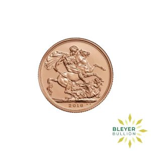 Bleyers Coin Best Value Full UK Gold Sovereign Front