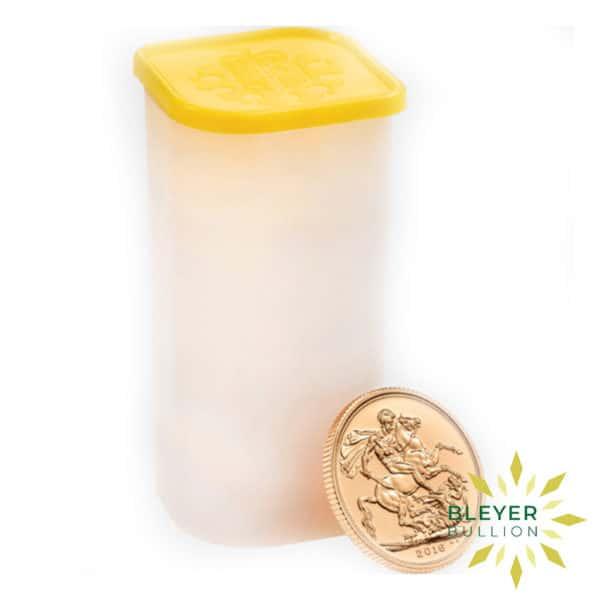 Bleyers Coin Best Value Full UK Gold Sovereign Tube