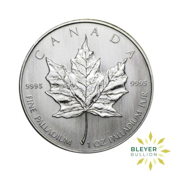 Palladium Canadian Maple Coins F