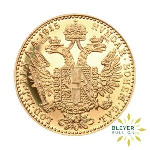 Bleyers Coin 1 Ducat Austrian Gold Coin FRONT