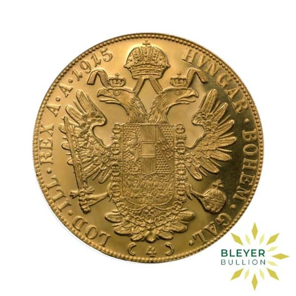 Bleyers Coin 4 Ducats Austrian Gold Coin New Edition 2