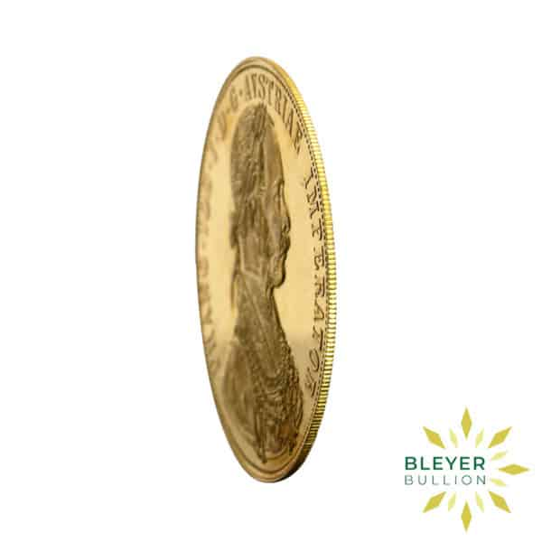 Bleyers Coin 4 Ducats Austrian Gold Coin New Edition 3