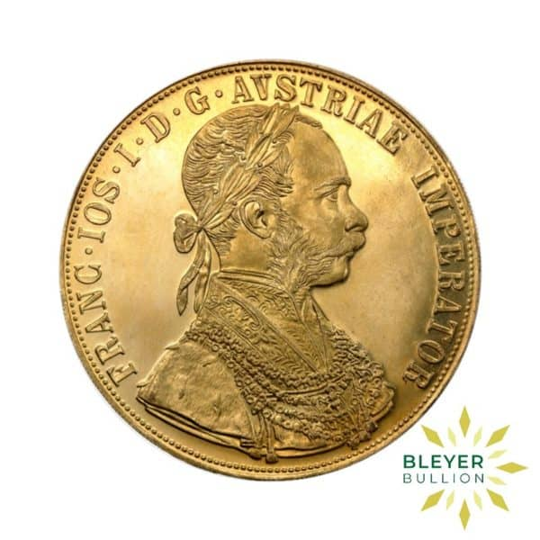 Bleyers Coin 4 Ducats Austrian Gold Coin New Edition01