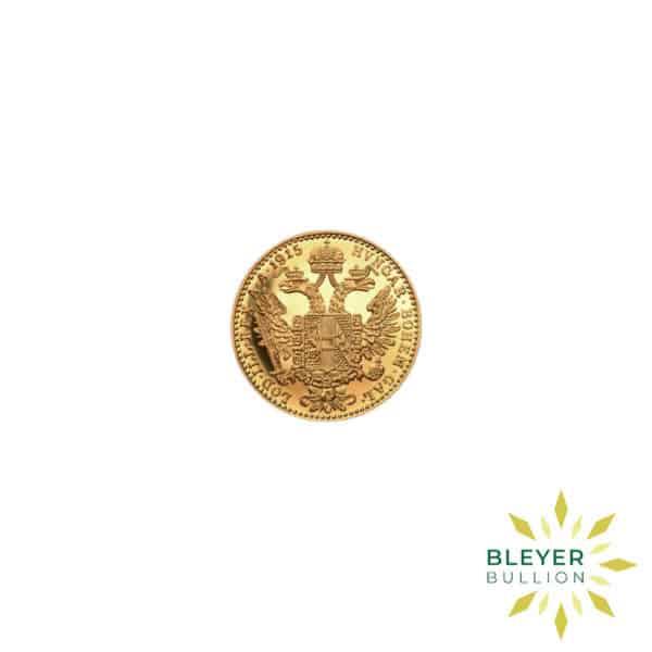 Bleyers Coin Cutouts 1 Ducat Austrian Gold Coin 4