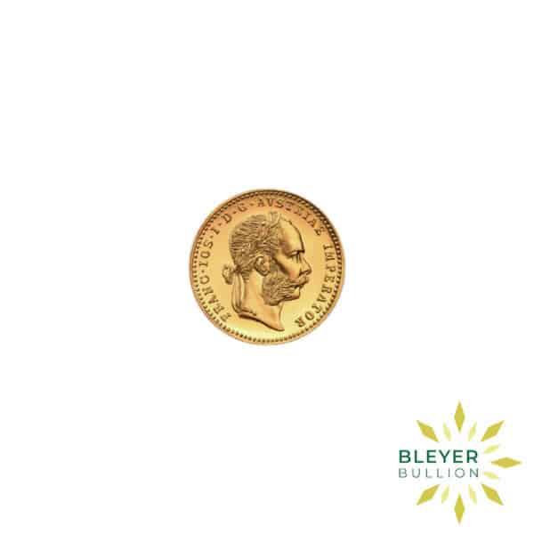 Bleyers Coin Cutouts 1 Ducat Austrian Gold Coin 5