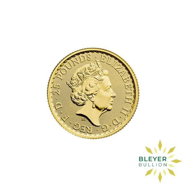 Bleyers Coin Best Value 14oz Gold UK Britannia Coins Back2