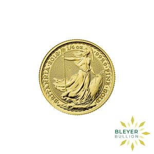 Bleyers Coin Best Value 14oz Gold UK Britannia Coins Front2