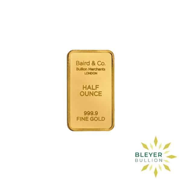 Bleyers Bar 1.2oz Baird Co Minted Gold Bar
