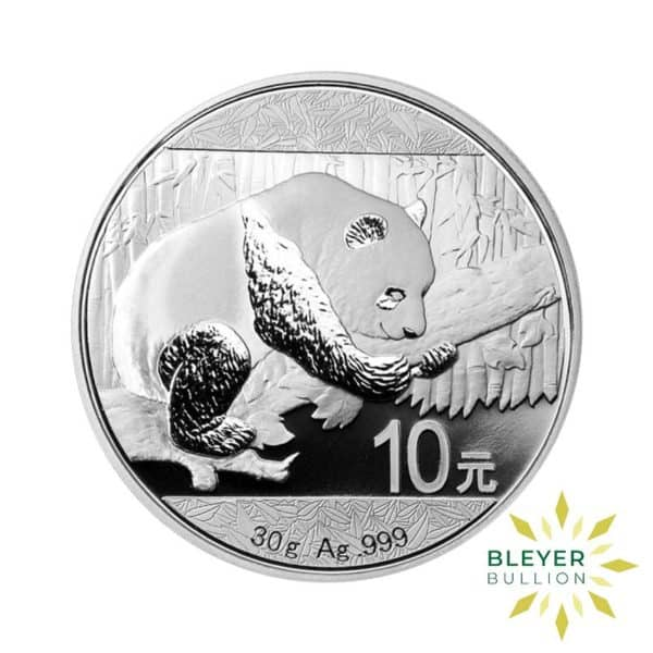 Bleyers Coin 30g Silver Chinese Panda Coin 2016 1