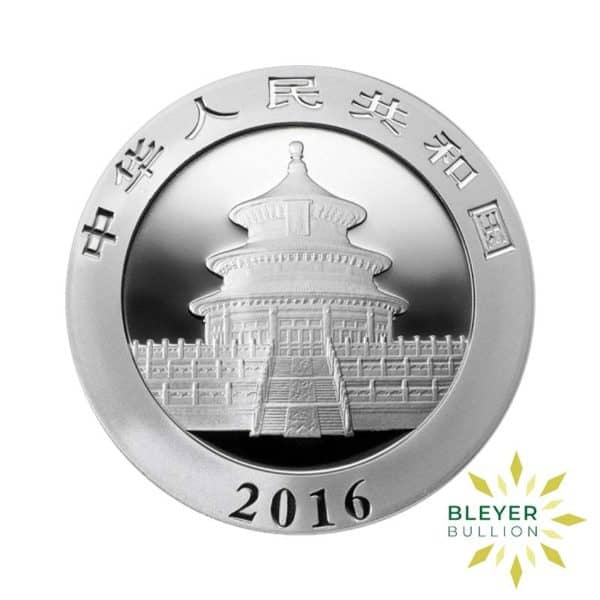 Bleyers Coin 30g Silver Chinese Panda Coin 2016 2