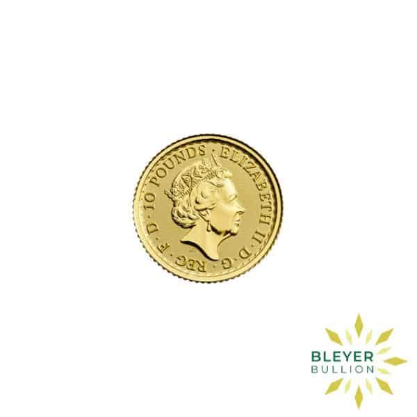 Bleyers Coin Best Value 110oz Gold UK Britannia Coin Back3