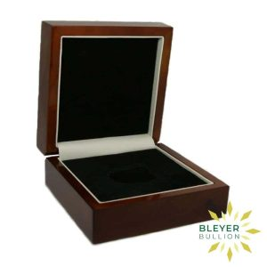 Bleyers Coin Wooden Presentation Box 1