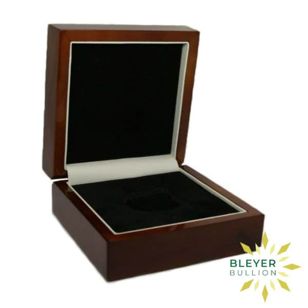 Bleyers Coin Wooden Presentation Box 1