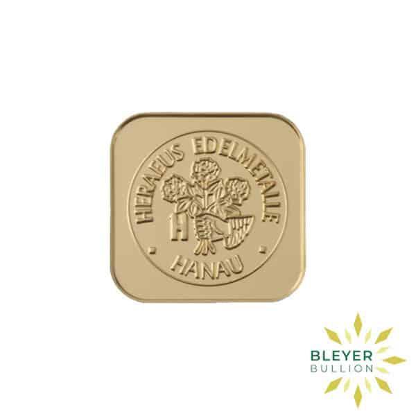 Bleyers Bars Heraeus MultiDisk – 10x 1g Gold Bars 3