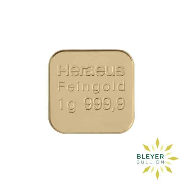 Bleyers Bars Heraeus MultiDisk – 10x 1g Gold Bars 4